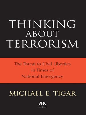 cover image of Thinking About Terrorism