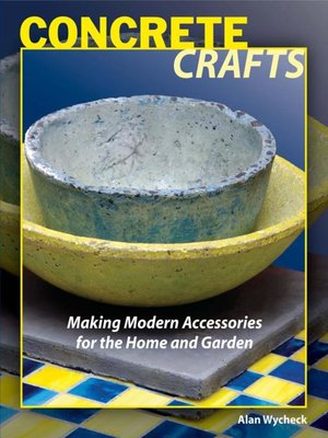 cover image of Concrete Crafts