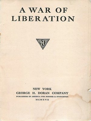 cover image of A War of Liberation