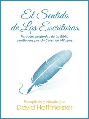 cover image of El Sentido de las Escripturas