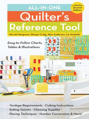 cover image of All-in-One Quilter's Reference Tool