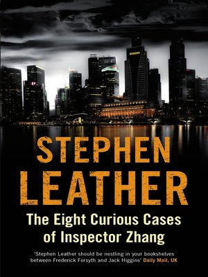 cover image of The Eight Curious Cases of Inspector Zhang