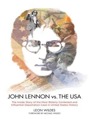 cover image of John Lennon vs. the U.S.A.
