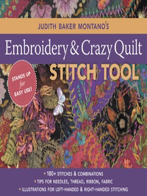 Judith Baker Montanos Embroidery Crazy Quilt Stitch Tool By