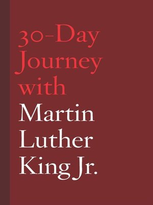 cover image of 30-Day Journey with Martin Luther King Jr.