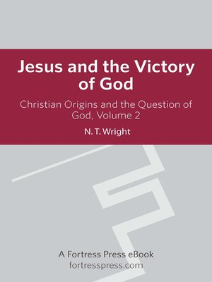 cover image of Christian Origins and the Question of God, Volume 2