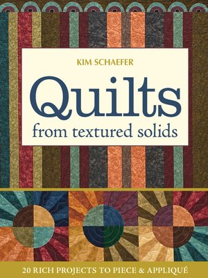 cover image of Quilts from Textured Solids