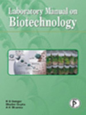 cover image of Laboratory Manual On Biotechnology
