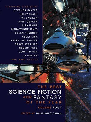 cover image of The Best Science Fiction and Fantasy of the Year