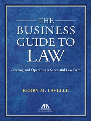 cover image of The Business Guide to Law