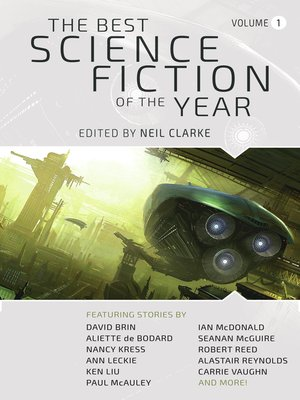 cover image of The Best Science Fiction of the Year