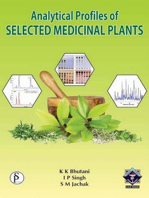 cover image of Analytical Profiles of Selected Medicinal Plants