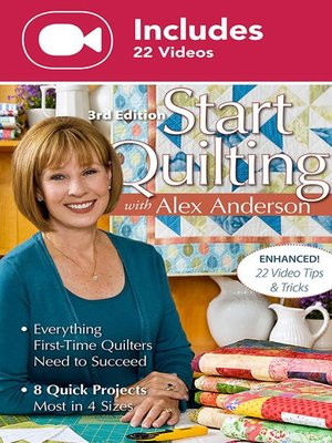 cover image of Start Quilting with Alex Anderson (Enhanced Editon)