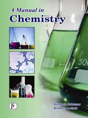 cover image of A Manual In Chemistry