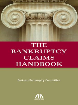 cover image of The Bankruptcy Claims Handbook