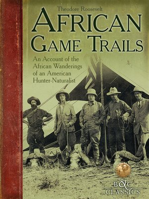 cover image of African Game Trails