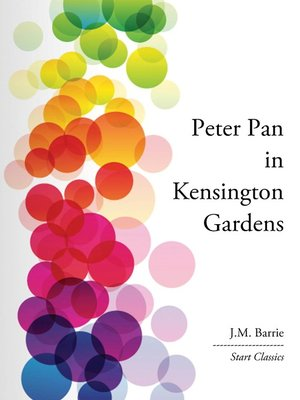 cover image of Peter Pan in Kensington Gardens