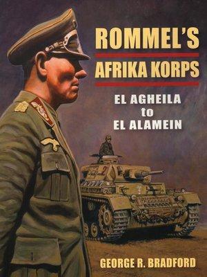 cover image of Rommel's Afrika Korps
