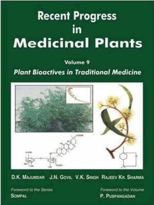 cover image of Recent Progress in Medicinal Plants (Plant Bioactives in Traditional Medicine)