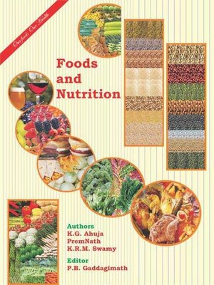 cover image of Foods and Nutrition