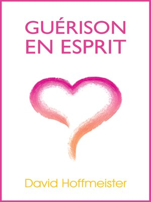 cover image of Guerison En Esprit