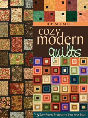 cover image of Cozy Modern Quilts