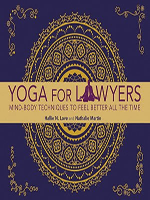 cover image of Yoga for Lawyers