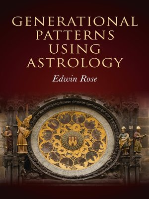 cover image of Generational Patterns Using Astrology