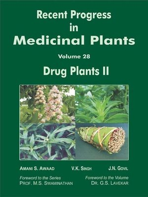 cover image of Recent Progress In Medicinal Plants (Drug Plants II)