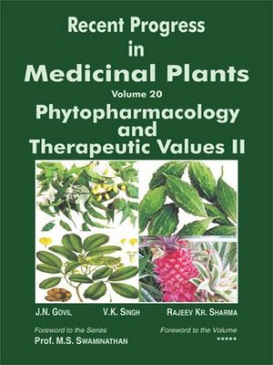 cover image of Recent Progress In Medicinal Plants (Phytopharmacology and Therapeutic Values II)