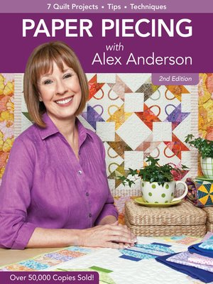 cover image of Paper Piecing with Alex Anderson