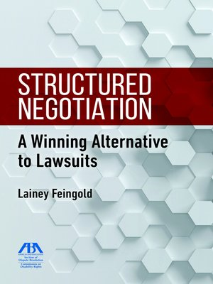 cover image of Structured Negotiation