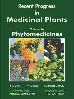 cover image of Recent Progress In Medicinal Plants (Phytomedicines)