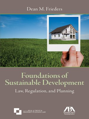 cover image of Foundations of Sustainable Development