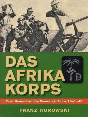 cover image of Das Afrika Korps