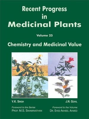 cover image of Recent Progress In Medicinal Plants (Chemistry and Medicinal Value)