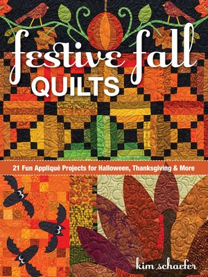 cover image of Festive Fall Quilts