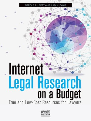 cover image of Internet Legal Research on a Budget