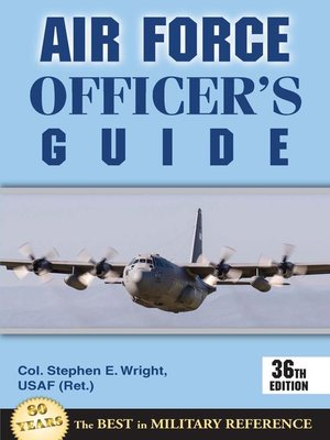 cover image of Air Force Officer's Guide