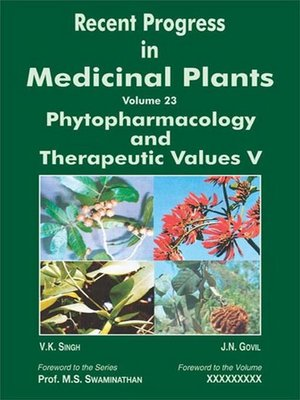 cover image of Recent Progress in Medicinal Plants (Phytopharmacology and Therapeutic Values V)