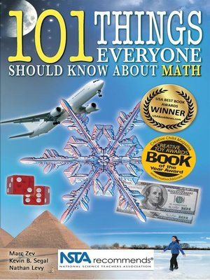cover image of 101 Things Everyone Should Know About Math