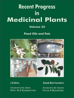 cover image of Recent Progress in Medicinal Plants (Fixed Oils and Fats)