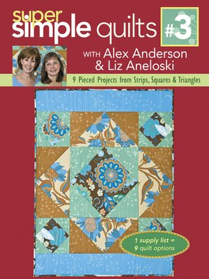 cover image of 9 Pieced Projects from Strips, Squares & Triangles