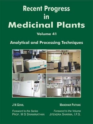 cover image of Recent Progress In Medicinal Plants (Analytical and Processing Techniques)