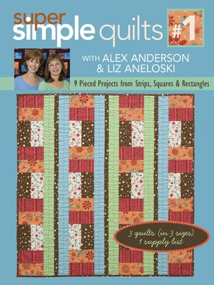 cover image of 9 Pieced Projects from Strips, Squares & Rectangles