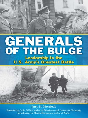 cover image of Generals of the Bulge