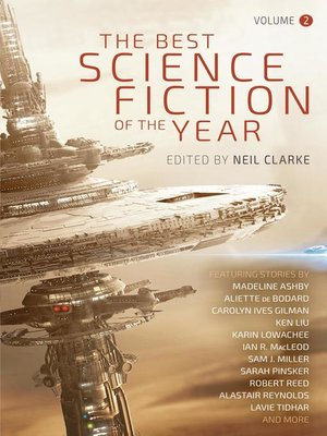 cover image of Best Science Fiction of the Year