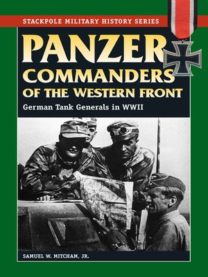 cover image of Panzer Commanders of the Western Front