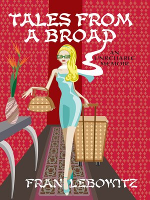 cover image of Tales From A Broad