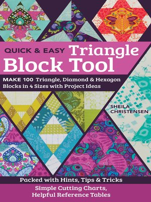 cover image of The Quick & Easy Triangle Block Tool